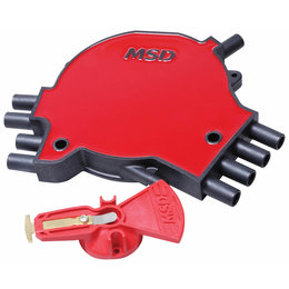 MSD Ignition LT-1 Distributor Cap and Rotor Kit, GM