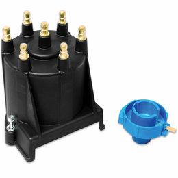 MSD Street Fire Cap/Rotor Kit, Street Fire, GM V6 4.3L EFI, External Coil