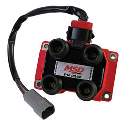 MSD Ignition Coil, Ford DIS Coil Pack for Midget Ignition
