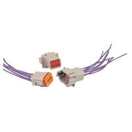 MSD Ignition Stekker Deutsch, 8-pins connector montage