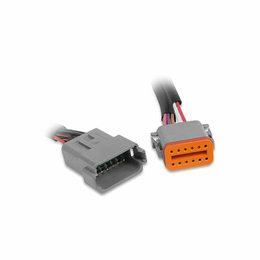 MSD Ignition Stekker Deutsch, 12-pins connector montage