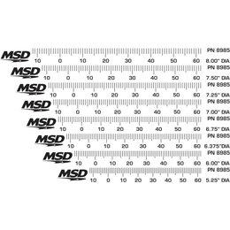 MSD Ignition Steuerketten für Massenausgleich