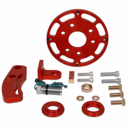 MSD Ignition Crank Trigger Kit, smal blok Chevy, 6 inches Balancer