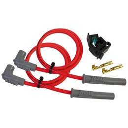 MSD Powersports Wire Set 2- Cylinder MSD Super Conductor Bougiekabelset 8.5mm