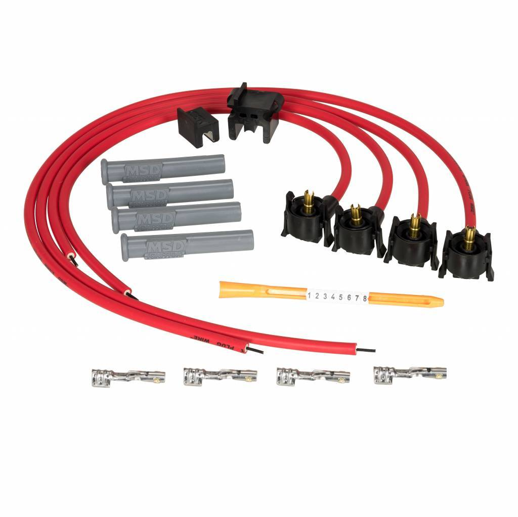 MSD Ignition 31689-PSA Spark Plug Wires | Ignitionproducts eu