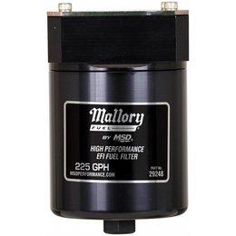 Mallory Mallory FuelFilter,FI,8AN,10 Micr,225GPH