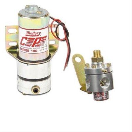 Mallory Mallory Fuel Pump,Elctrc, Regluator Incld