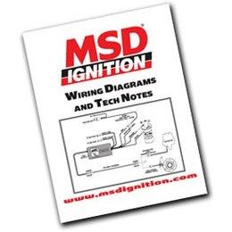 MSD Ignition MSD-bekabelingsschema´s en boek met technische aantekeningen