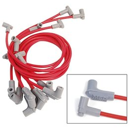 MSD Ignition Super Conductor Wiresets, BBC With Low Profile Distributor