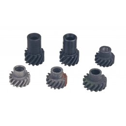 MSD ignition Distributor Gear, MSD Chevy Marine Distributors, Iron