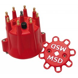 MSD ignition Distributor Cap, MSD Style, Chevy V8, HEI, Retainer