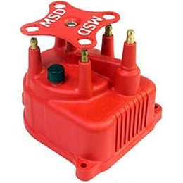 MSD ignition Distributor Cap, Modified Honda Civic 1.5/6L, '92-'97, Red