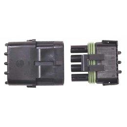 MSD Ignition Stekker 4-pins Weathertight, per stuk