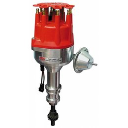 MSD Ignition Distributor Ford 351W with Vacuum Advance, Pro-Billet