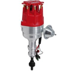 MSD Ignition Distributor Ford 289-302 with Steel Gear, Ready-to-Run