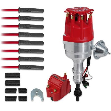 MSD ignition Ignition Kit, Ford 351W Ready-to-Run Steel Gear