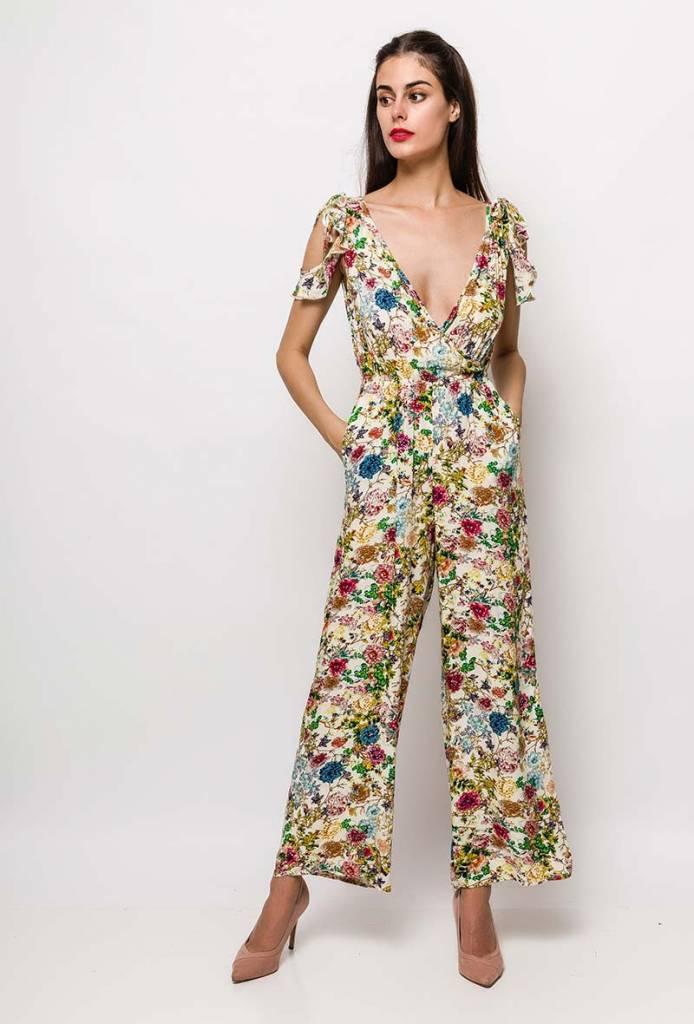 bloemenprint zie je terug op vele kledingstukken