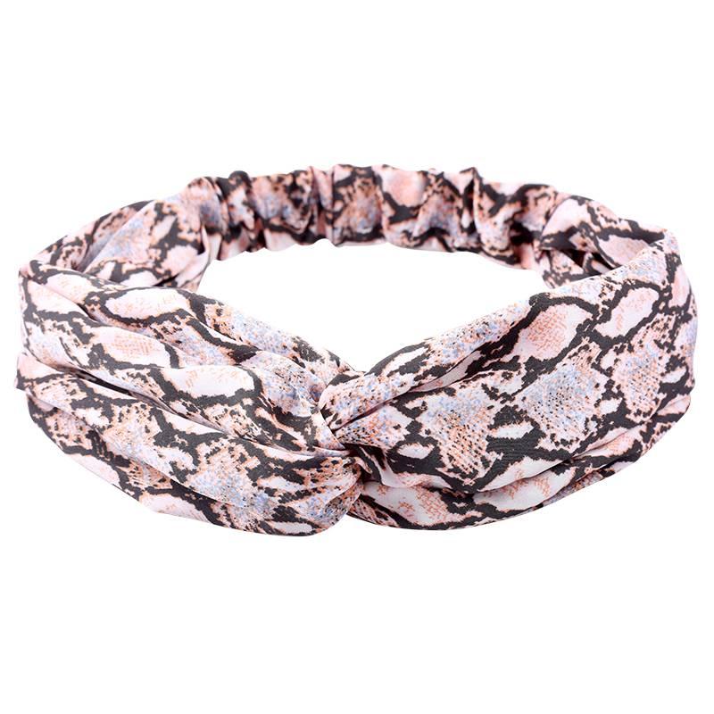 Dames Haarband Slangenprint