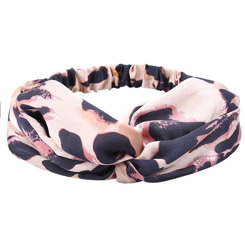 Dames Haarband Leopard Print