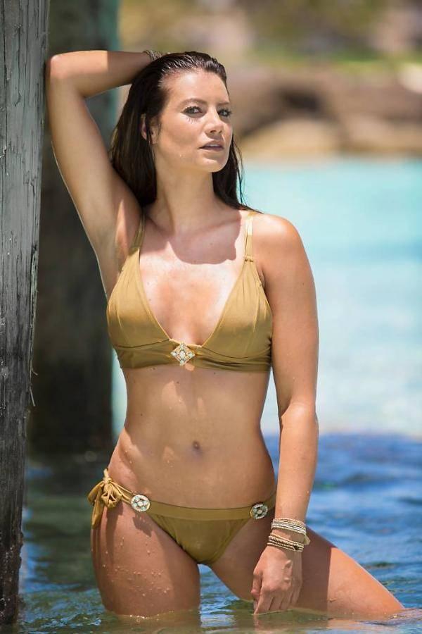 Sale Boho  Bikini  Cosmo Bralette Bronze