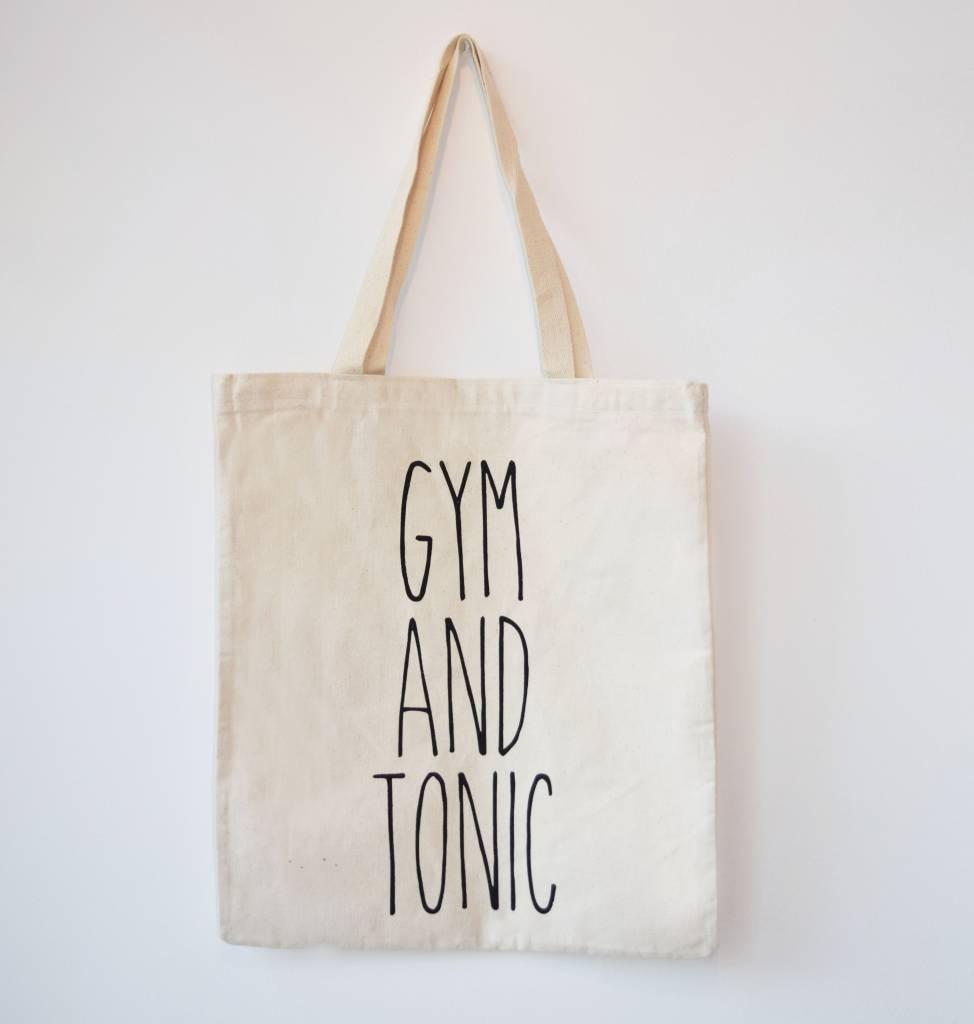 Canvas Tas Gym Tonic