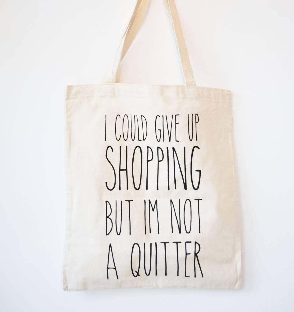 Canvas Tas Shopping