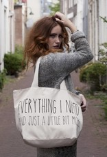 Grote Canvas Tas Everything