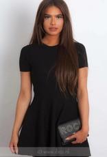 zwart basic jurkje