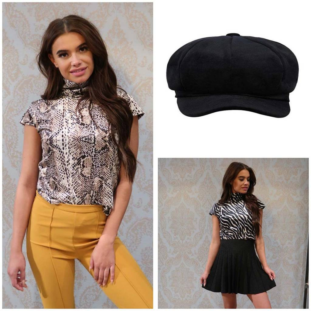 Velvet Dames Kleding! Mooie velvet tops, en accessoires.