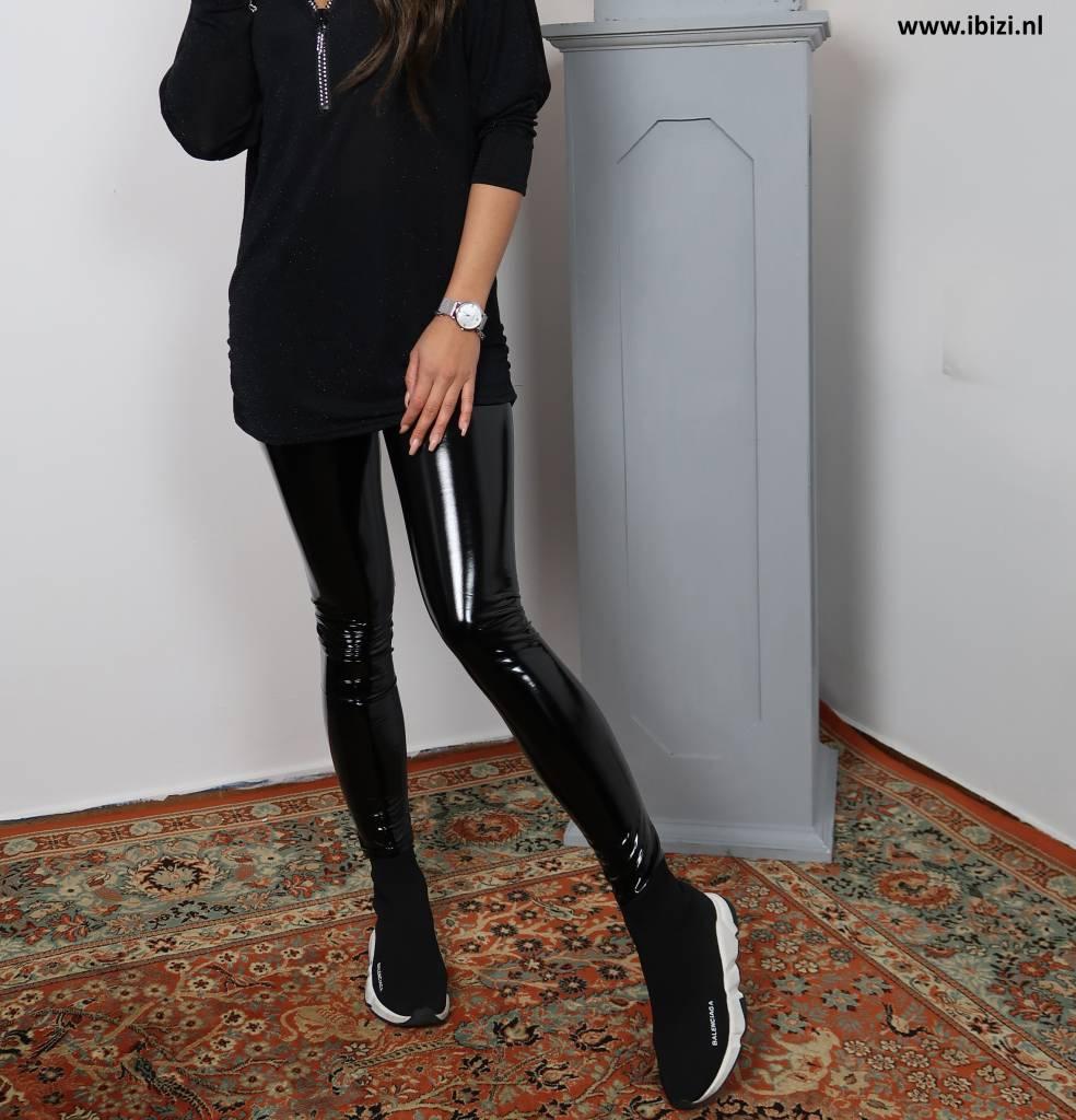 Lak Legging Combineren