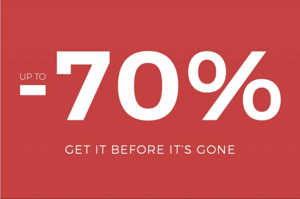 Sale! Korting tot -70%! Uitverkoop dameskleding! Op=Op