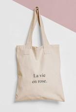 Tote Bag Tekst: La vie en rose