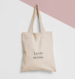 Tote Bag Tekst: La vie en rose