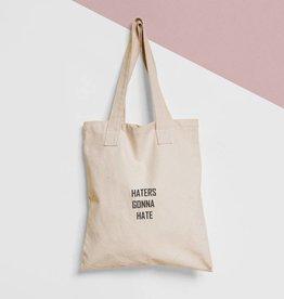 Tote Bag Tekst: Haters