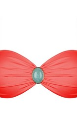 The Iconic Bandeau Red