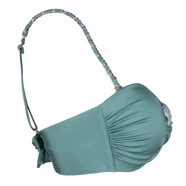 Boho Bikini Braided Strap Green