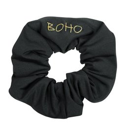 Boho Bikini Scrunchie Charcoal
