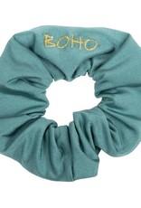 Boho Bikini Scrunchie Green
