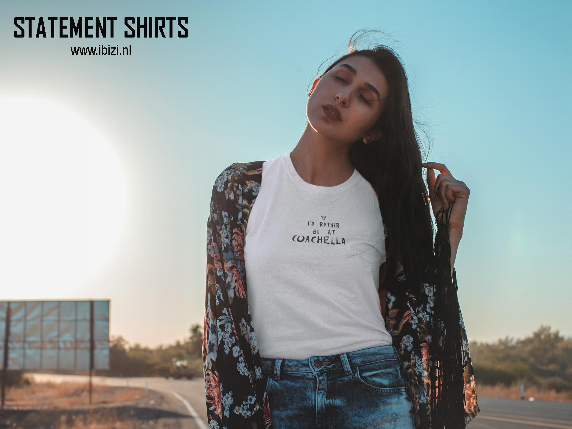 Statement Shirts - Dames T-Shirts Met Tekst - Slogan - Quote