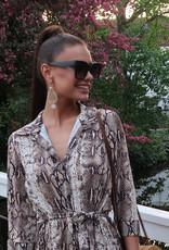 Celine Look A Like Zonnebril Zwart