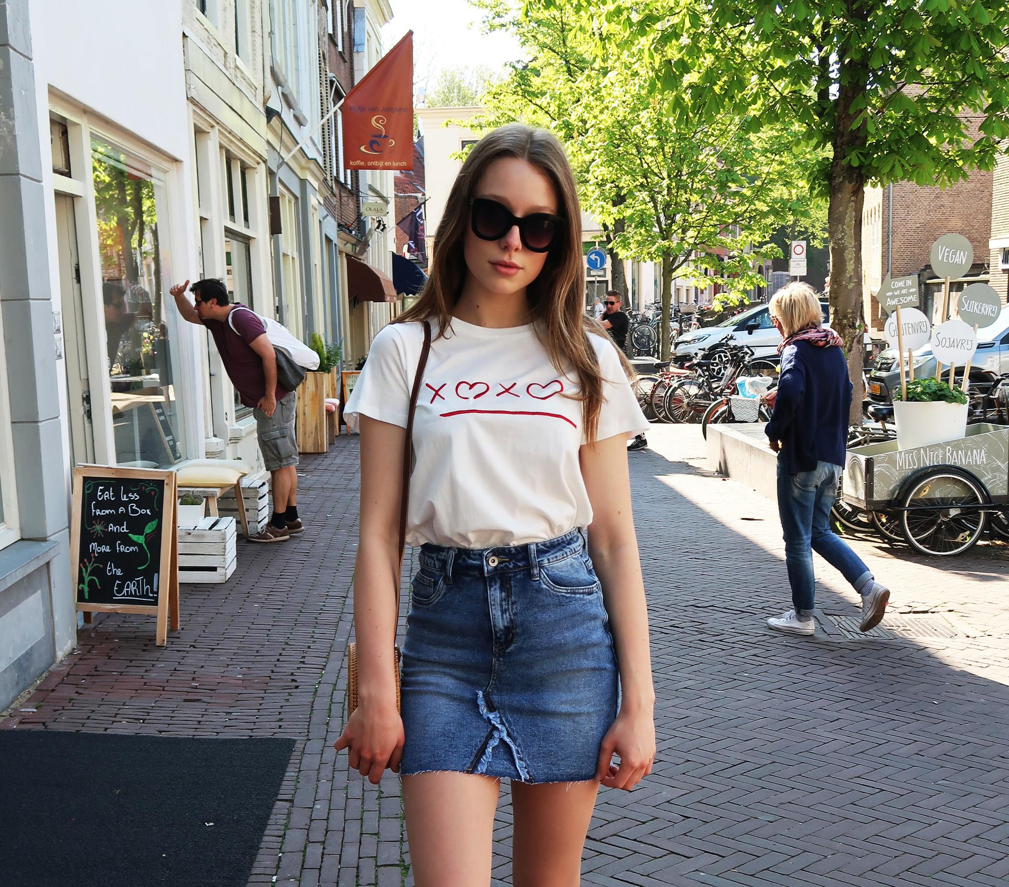 Festival Wit T-Shirt