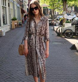 Festival Maxi Dress Snakeprint
