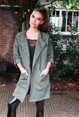 Dames Oversized Jacket Groen