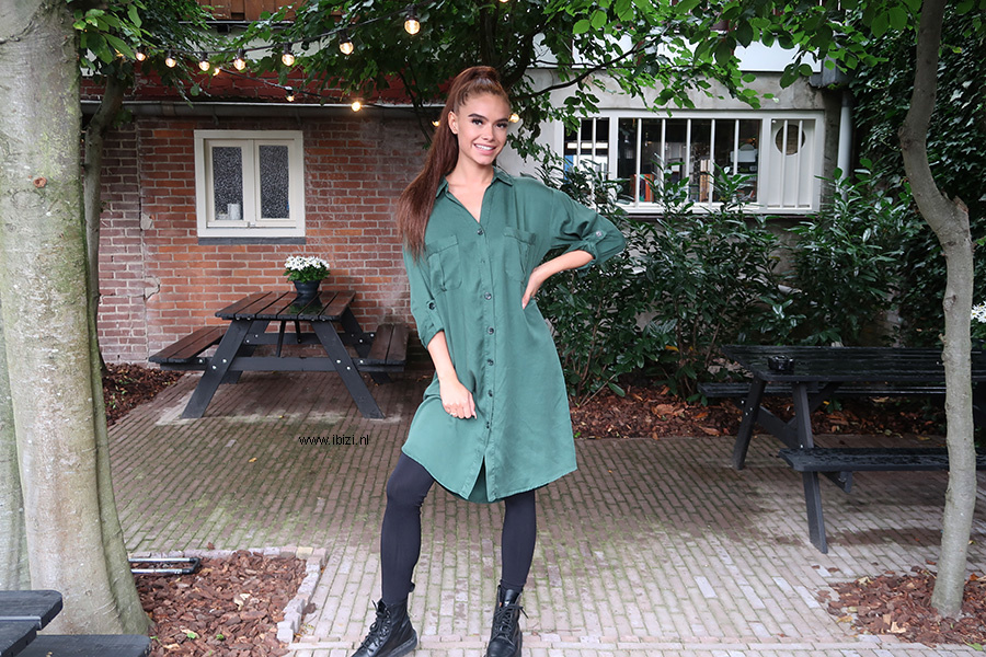 Dames Jurkje Groen - Tuniek