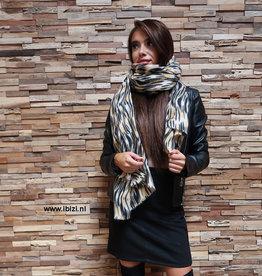 Dames Sjaal Print Winter