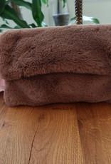 Teddy Tas Bruin - Faux Fur