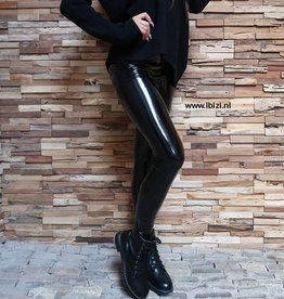 Lak Legging Zwart