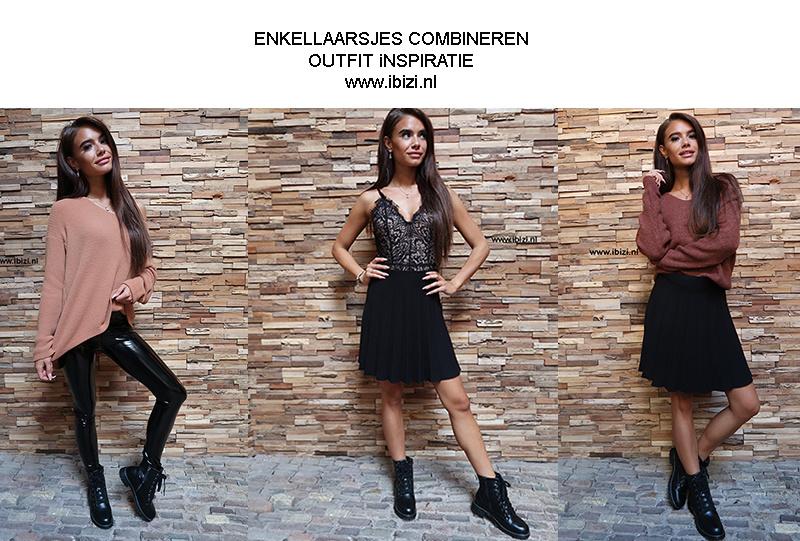 Enkellaarsjes Combineren - Outfit Inspiratie - Laarsjes