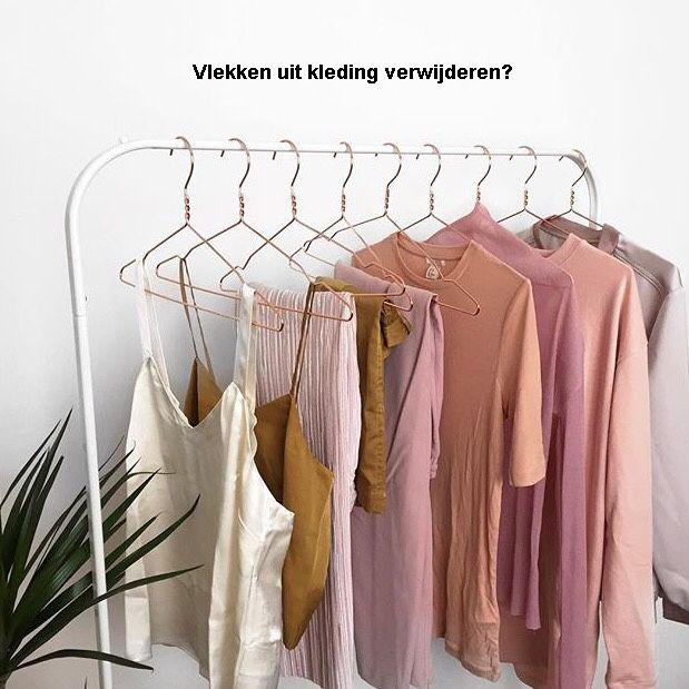 Vlekken uit kleding verwijderen? Tips!