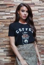 Coffee Shirt Black